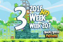 Angry Birds Friends 2016 Tournament Level 3 Week 207 Walkthrough