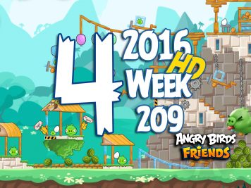 Angry Birds Friends Tournament Level 4 Week 209 Walkthrough   May 19th 2016