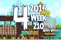Angry Birds Friends 2016 Tournament Level 4 Week 210 Walkthrough