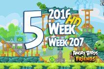Angry Birds Friends 2016 Tournament Level 5 Week 207 Walkthrough