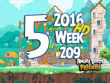 Angry Birds Friends Tournament Level 5 Week 209 Walkthrough   May 19th 2016