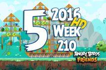 Angry Birds Friends 2016 Tournament Level 5 Week 210 Walkthrough