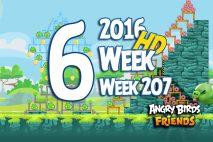 Angry Birds Friends 2016 Tournament Level 6 Week 207 Walkthrough