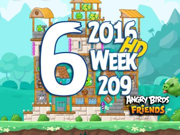 Angry Birds Friends Tournament Level 6 Week 209 Walkthrough   May 19th 2016