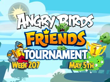 Angry Birds Friends Tournament week 207 Feature Image