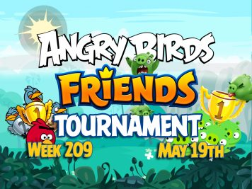 Angry Birds Friends Tournament week 209 Feature Image