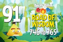 Angry Birds POP! Levels 746 to 765 – Road Of Wisdom Walkthroughs