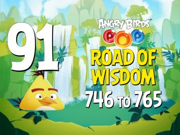 Angry Birds POP! Part 91 - Levels 746 to 765 - Road Of Wisdom