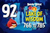Angry Birds POP! Levels 766 to 785 – Lake Of Wisdom Walkthroughs