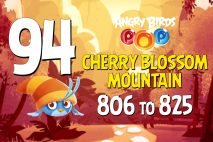 Angry Birds POP! Levels 806 to 825 – Cherry Blossom Mountain Walkthroughs