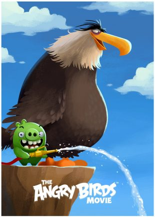 exclusive angry birds movie posters unlocked in angry