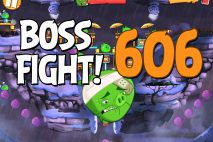 Angry Birds 2 Boss Fight Level 606 Walkthrough – Cobalt Plateaus The Hamalayas