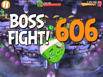 Angry Birds 2 Boss Fight Level 606