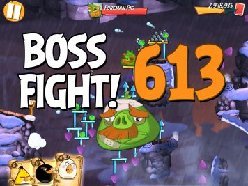 Angry Birds 2 Boss Fight Level 613