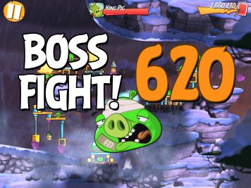 Angry Birds 2 Boss Fight Level 620