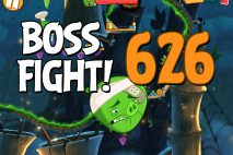 Angry Birds 2 Boss Fight Level 626 Walkthrough – Bamboo Forest Madagooscar