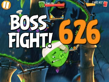 Angry Birds 2 Boss Fight Level 626