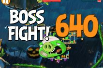 Angry Birds 2 Boss Fight Level 640 Walkthrough – Bamboo Forest Madagooscar