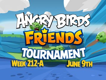 Angry Birds Friends Tournament 212-A Feature Image