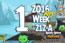 Angry Birds Friends 2016 Tournament Level 1 Week 211-B Walkthrough