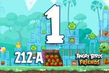 Angry Birds Friends 2016 Tournament 212-A Level 1 Walkthroughs