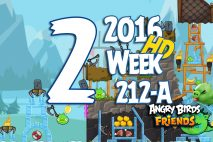 Angry Birds Friends 2016 Tournament Level 2 Week 211-B Walkthrough
