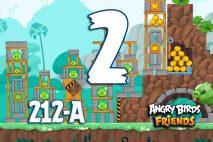 Angry Birds Friends 2016 Tournament 212-A Level 2 Walkthroughs