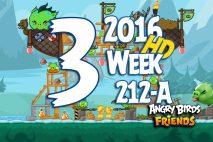 Angry Birds Friends 2016 Tournament Level 3 Week 211-B Walkthrough