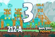 Angry Birds Friends 2016 Tournament 212-A Level 3 Walkthroughs