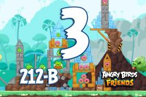 Angry Birds Friends 2016 Tournament 212-B Level 3 Walkthroughs