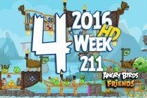Angry Birds Friends 2016 Tournament Level 4 Week 211 Walkthrough