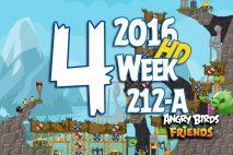 Angry Birds Friends 2016 Tournament Level 4 Week 211-B Walkthrough