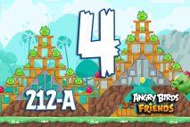 Angry Birds Friends 2016 Tournament 212-A Level 4 Walkthroughs
