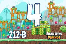 Angry Birds Friends 2016 Tournament 212-B Level 4 Walkthroughs