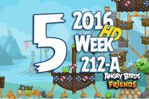 Angry Birds Friends 2016 Tournament Level 5 Week 211-B Walkthrough