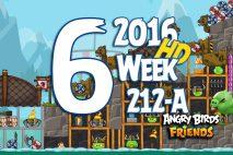 Angry Birds Friends 2016 Tournament Level 6 Week 211-B Walkthrough