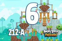 Angry Birds Friends 2016 Tournament 212-A Level 6 Walkthroughs