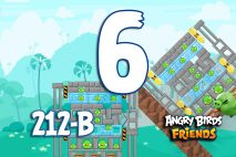 Angry Birds Friends 2016 Tournament 212-B Level 6 Walkthroughs