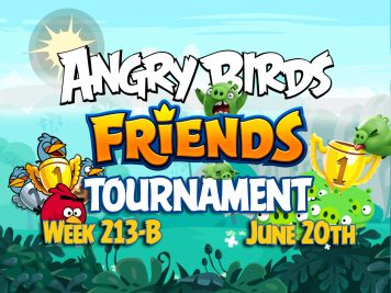 Angry Birds Friends Tournament Week 213B Feature Image Template 2016