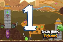Angry Birds Friends 2016 Tournament 213-B Level 1 Walkthroughs