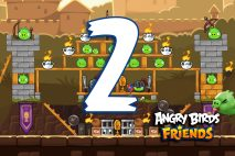 Angry Birds Friends 2016 Tournament 213-B Level 2 Walkthroughs