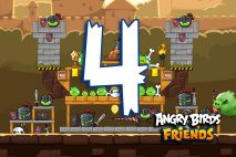 Angry Birds Friends 2016 Tournament 213-B Level 4 Walkthroughs