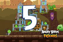 Angry Birds Friends 2016 Tournament 213-B Level 5 Walkthroughs