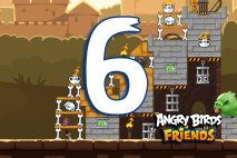 Angry Birds Friends 2016 Tournament 213-B Level 6 Walkthroughs