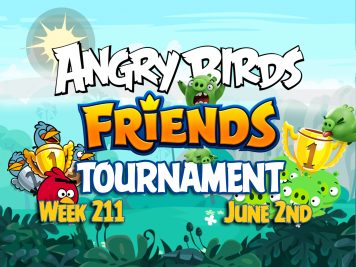 Angry Birds Friends Tournament week 211 Feature Image