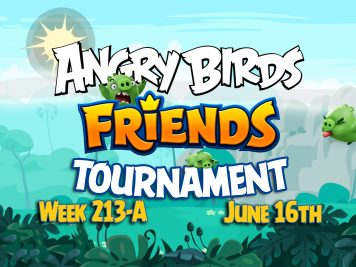 Angry Birds Friends Tournament week 213A Feature Image