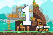 Angry Birds Friends 2016 Tournament 214-B Level 1 Walkthroughs