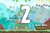 Angry Birds Friends 2016 Tournament 214-B Level 2 Walkthroughs