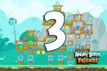 Angry Birds Friends 2016 Tournament 214-B Level 3 Walkthroughs