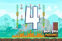 Angry Birds Friends 2016 Tournament 214-B Level 4 Walkthroughs
